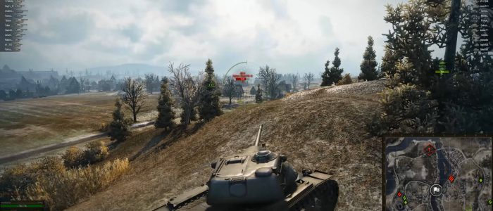 world of tanks - началась игра